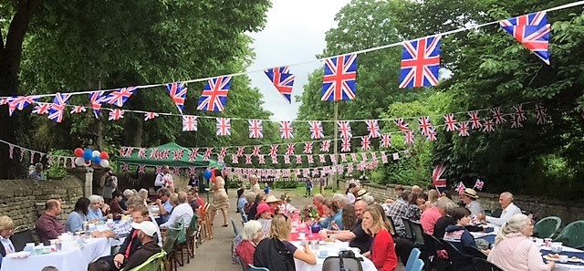 Queen's 90th birthday street party